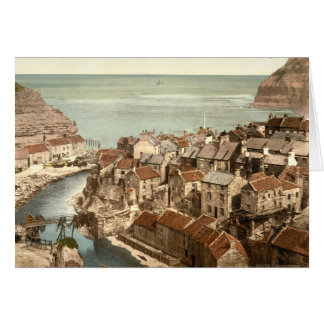 Staithes, Yorkshire, England Greeting Card