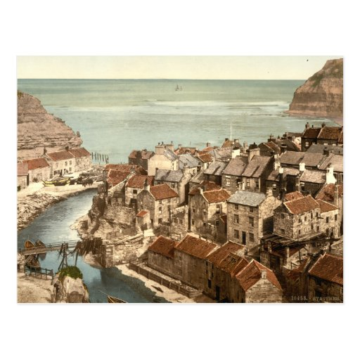 Staithes, Yorkshire, England Post Card