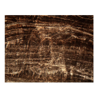 Stalagmite under the microscope postcard