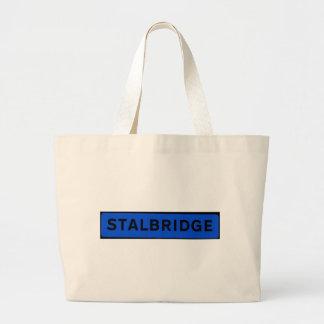 Stalbridge in Blue Large Tote Bag