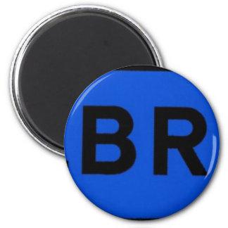 Stalbridge in Blue Refrigerator Magnets