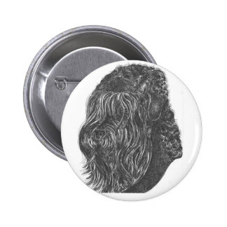 stalin dog Standard, 2¼ Inch Round Button