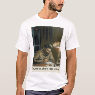 Stalin in the Kremlin is_Propaganda Poster T-Shirt
