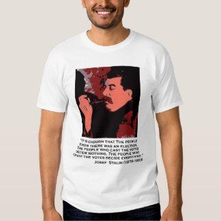 stalin on voting tshirts