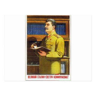 stalin poster art postcards