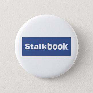 Stalk Book 6 Cm Round Badge