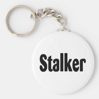 Stalker Basic Round Button Key Ring