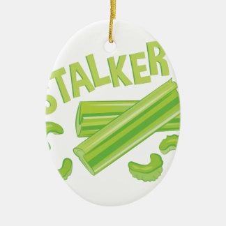 Stalker Ceramic Oval Decoration