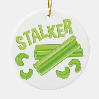 Stalker Round Ceramic Decoration