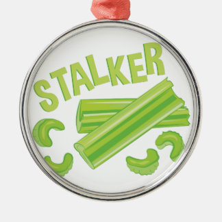 Stalker Silver-Colored Round Decoration