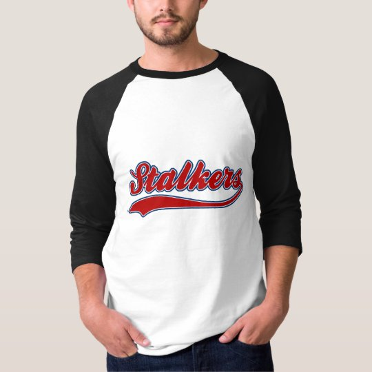 Stalkers Faux Baseball Jersey T-Shirt