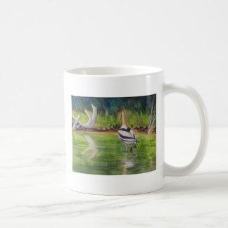 Stalking Still Waters Basic White Mug