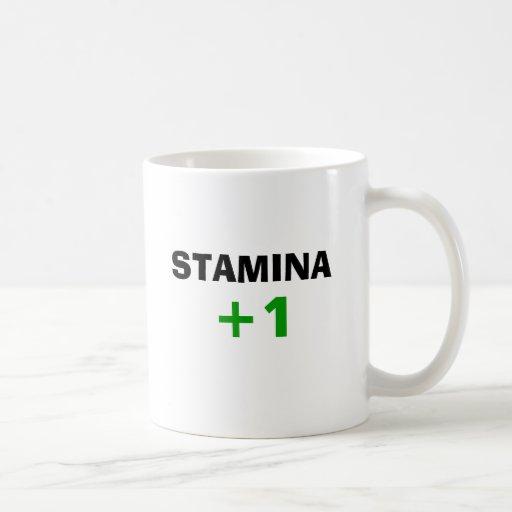 STAMINA +1 (Left handed) Mugs