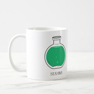 Stamina Potion: +100 Coffee Mug