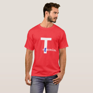 Stamina. Red, white and blue edition. T-Shirt