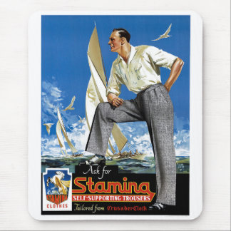 Stamina Self-Supporting Trousers Mouse Pad