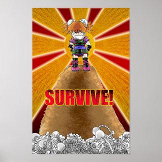 Stamina Survival Poster