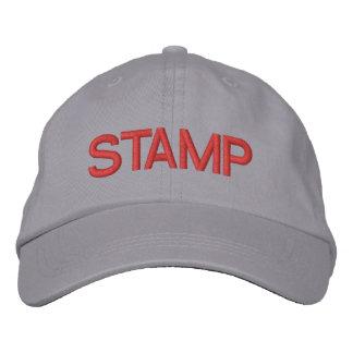 STAMP ADJUSTABLE HAT