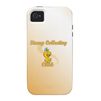 Stamp Collecting Chick Case For The iPhone 4