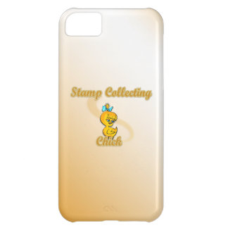 Stamp Collecting Chick Cover For iPhone 5C