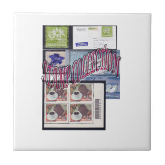 Stamp collection Ethnic and Elegant Small Square Tile