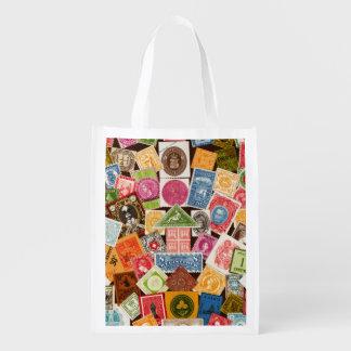 Stamp Collector Reuseable Bag