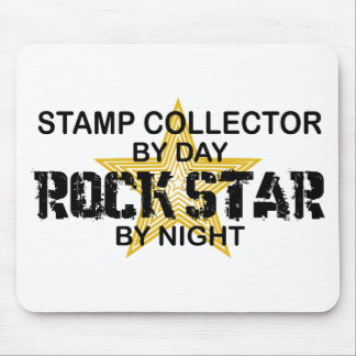 Stamp Collector Rock Star by Night Mouse Mat