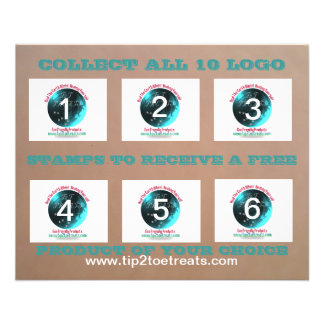 Stamp Coupon Book Flyers