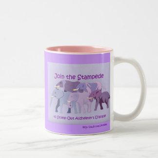 Stamp Out Alzheimer s Coffee Mug