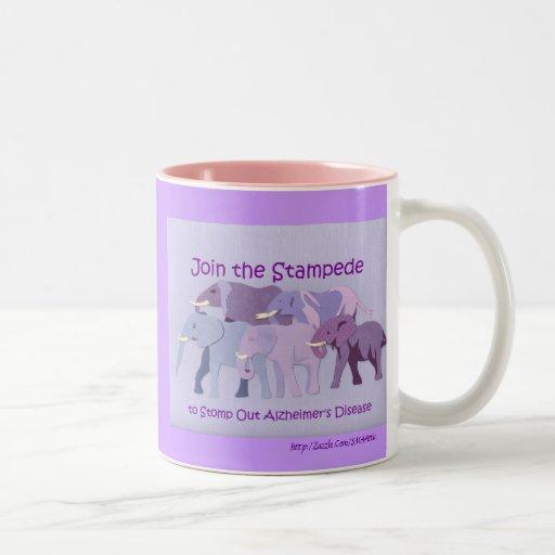 Stamp Out Alzheimer's Coffee Mug
