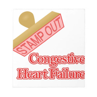 Stamp Out Congestive Heart Failure Note Pad