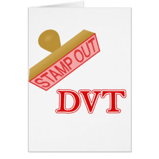 Stamp Out DVT Stationery Note Card