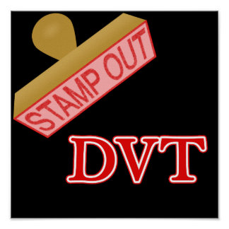 Stamp Out DVT Poster