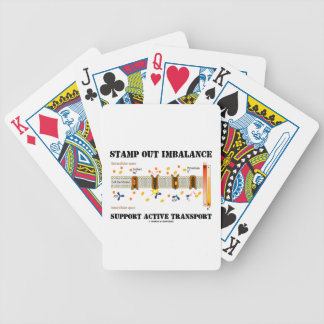 Stamp Out Imbalance Support Active Transport Card Decks