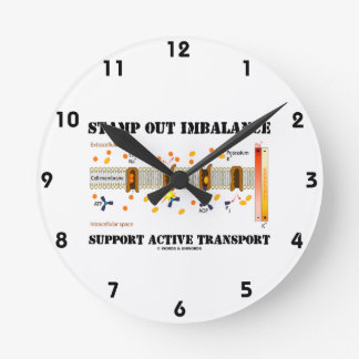 Stamp Out Imbalance Support Active Transport Clocks