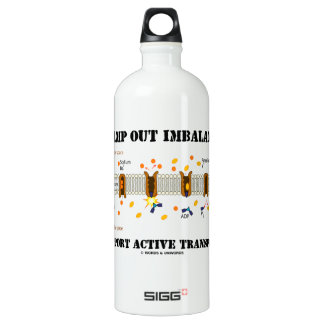 Stamp Out Imbalance Support Active Transport SIGG Traveller 1.0L Water Bottle