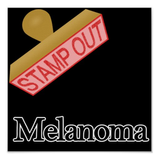 Stamp Out Melanoma Poster