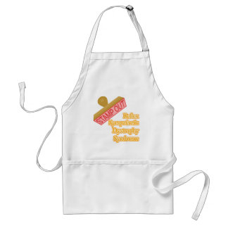 Stamp Out Reflex Sympathetic Dystrophy Syndrome Adult Apron