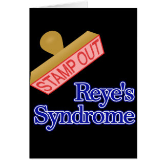 Stamp Out Reye's Syndrome Note Card