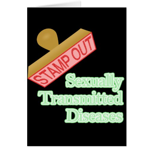 Stamp Out Sexually Transmitted Diseases Card