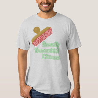 Stamp Out Sexually Transmitted Diseases Tshirts