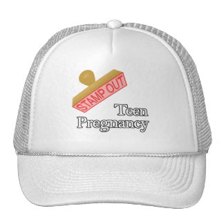 Stamp Out Teen Pregnancy Mesh Hat
