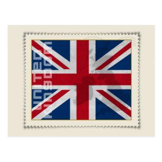 Stamp United Kingdom Postcard