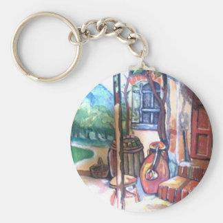 stampa su tela oil original keychains