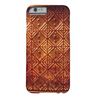 Stamped Aged Copper Pattern Iphone 6 Case Barely There iPhone 6 Case
