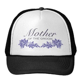 Stamped Floral Mom of Groom Hats