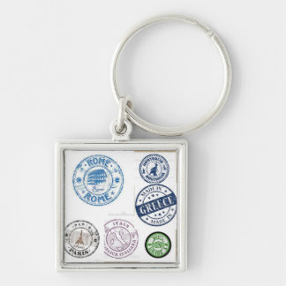Stamped Key Chain