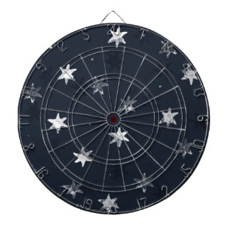 Stamped Star Dart Boards