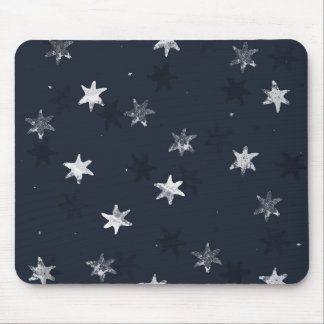 Stamped Star Mouse Mat