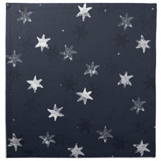 Stamped Star Napkin